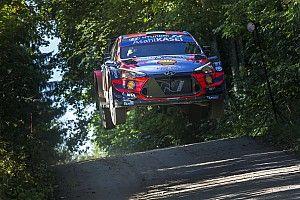 Estonya WRC: Yerel kahraman Tanak lider, Hyundai kontrol altında götürüyor