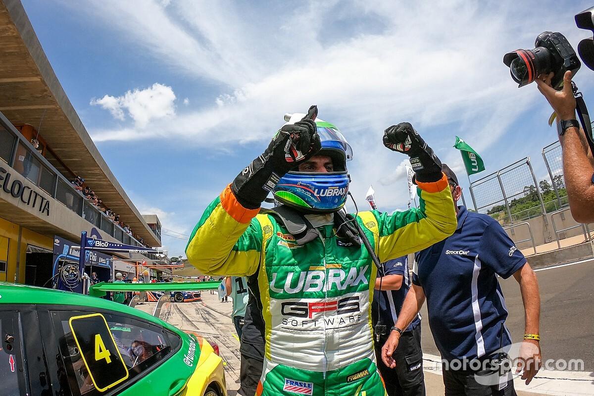 Stock Car: Júlio Campos lidera de ponta a ponta vence Corrida 1 no Velocitta