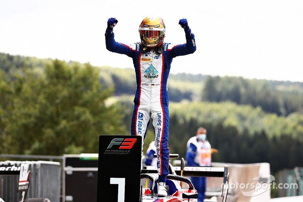 Spa F3: Zendeli takes maiden win in first race