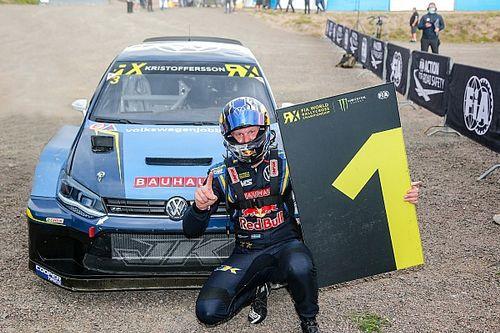 Finland WRX: Returnee Kristoffersson wins, Ekstrom retires