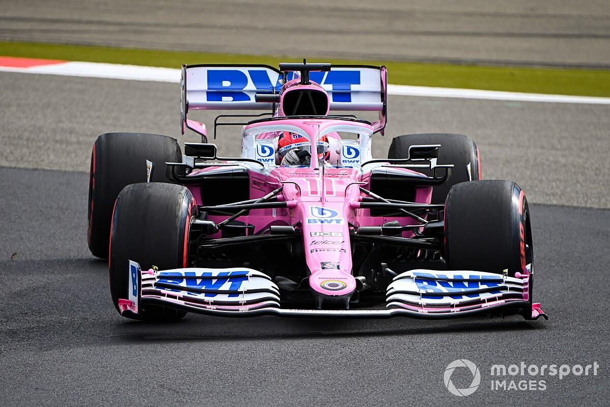 Racing Point z zawieszeniem Mercedesa