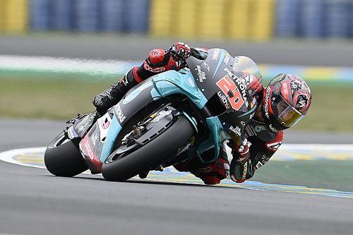 Le Mans MotoGP: Quartararo, üçüncü antrenman seansının lideri oldu