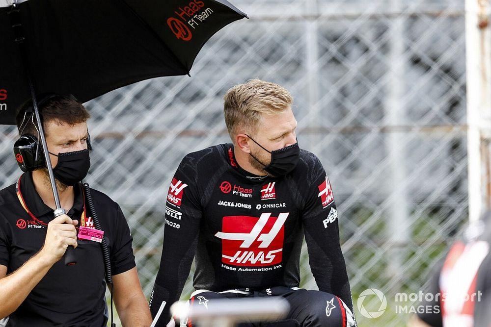 Magnussen henüz Haas'la yeni kontrat görüşmelerine başlamadı