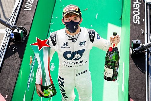 GP de Italia: Gasly gana una carrera increíble seguido de Sainz y Stroll