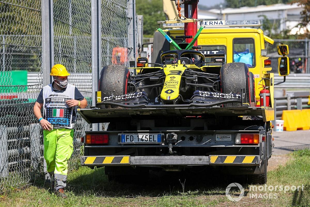Машину Риккардо должны починить до старта квалификации