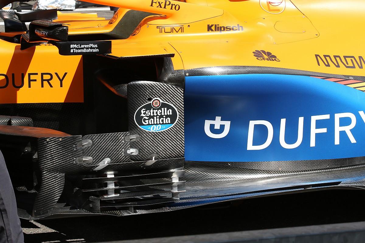 McLaren: nuovo deviatore di flusso in stile Mercedes