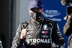 Bottas klopt Hamilton en Verstappen voor pole Eifel GP