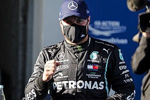 Eifel GP: Bottas beats Hamilton, Verstappen to pole