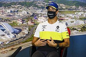 """Ricciardo: """"Renault'nun Rusya'daki podyum şansı hakkında konuşmak için 'daha erken'"""""""