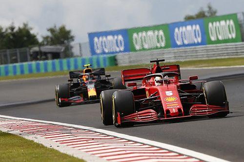 Vettel szerint a Ferrari túl lassú ahhoz, hogy nyomást gyakoroljanak