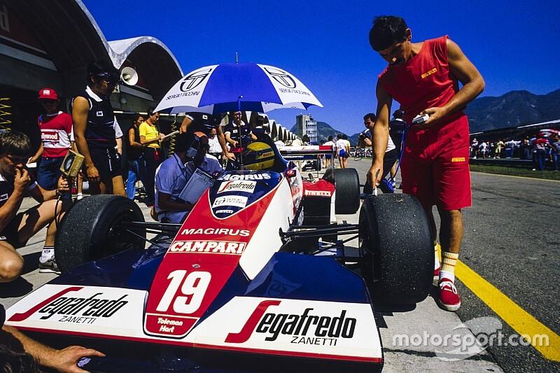 Egy csodálatos F1-es képgaléria az 1984-es Brazil Nagydíjról, amin Senna bemutatkozott