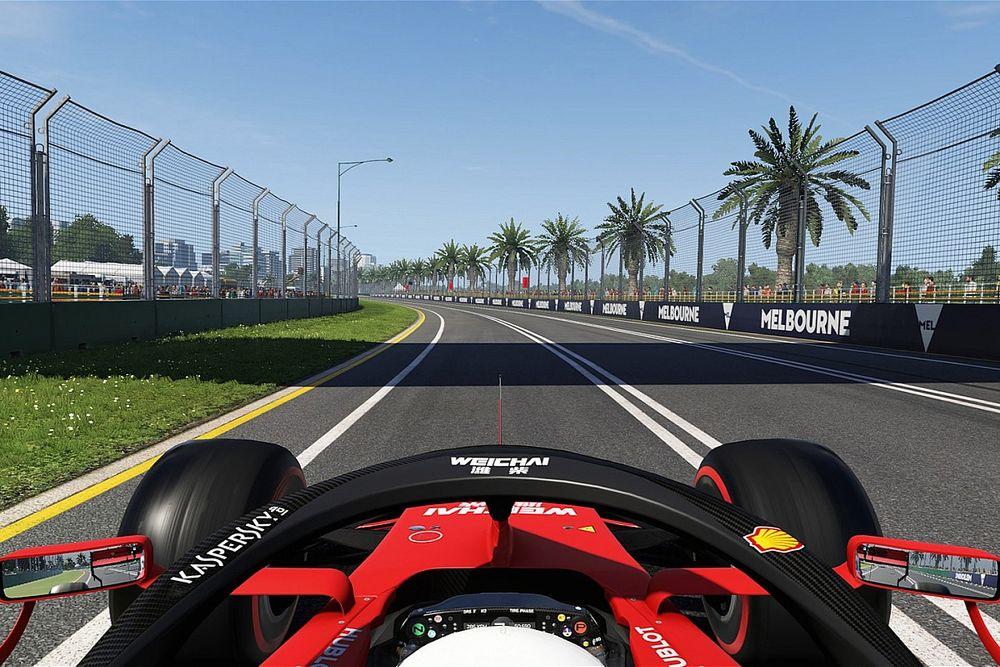 Binotto örül, hogy Leclerc virtuálisan már visszatért a Ferrarival