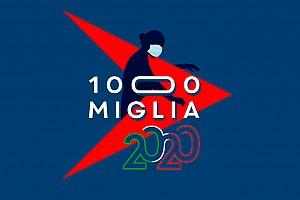 Coronavirus, il logo della 1000 Miglia cambia in onore dei medici