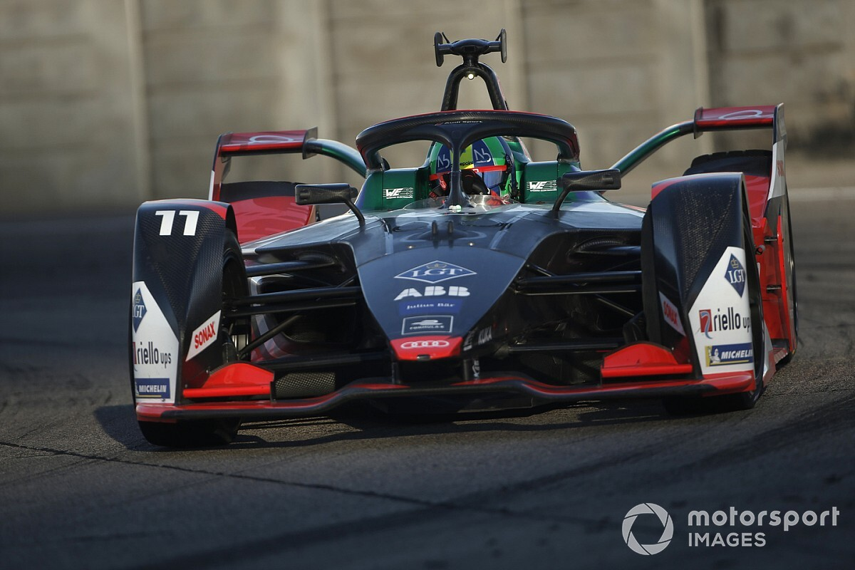 Berlin E-Prix: Di Grassi leads Lotterer in practice by 0.009s