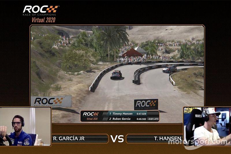 Individuele Virtual Race of Champions prooi voor Hansen