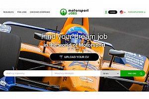 Motorsport Network, Motorsport Jobs'ın yeni yöneticisini tanıttı