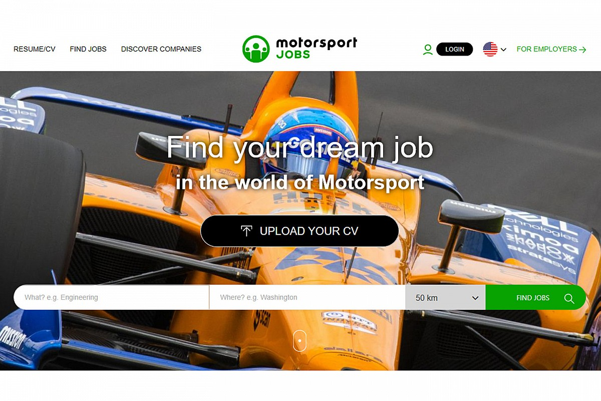 Motorsport Network anuncia novo chefe do Motorsport Jobs