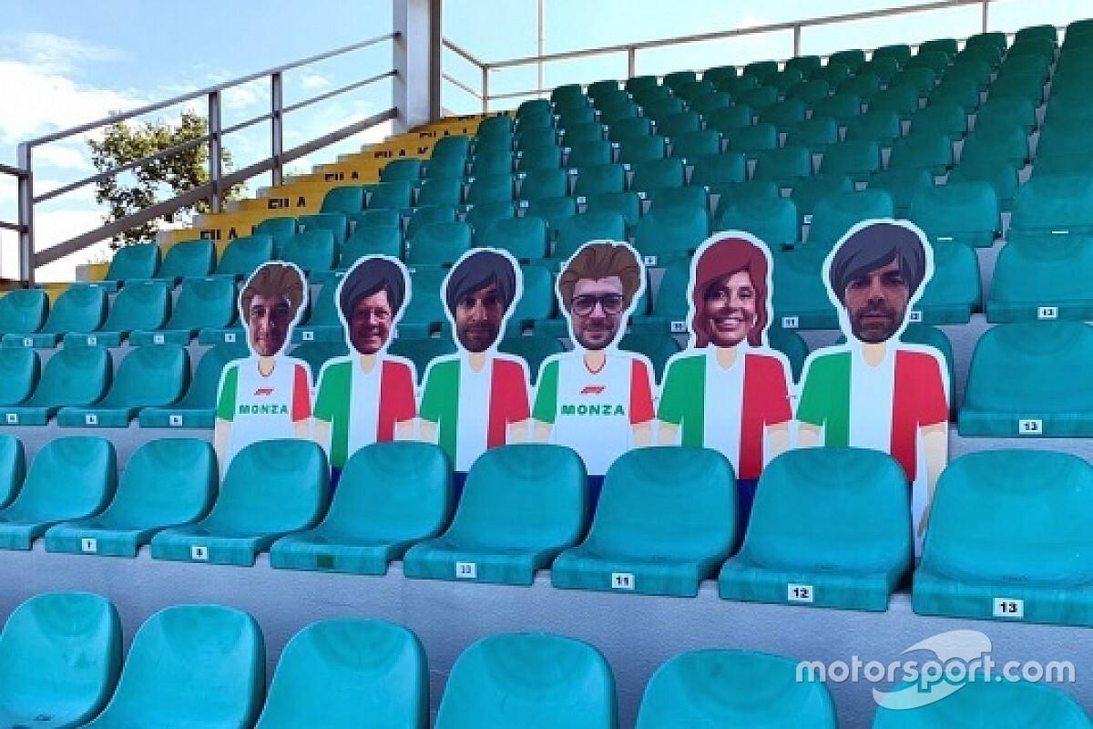 Monza: tifosi virtualmente in tribuna per beneficenza