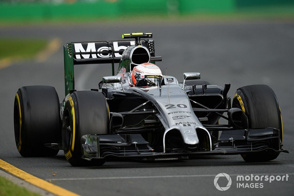 Magnussen expected to challenge for F1 title after debut podium