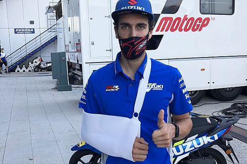 Rins to miss Jerez MotoGP race after being declared unfit
