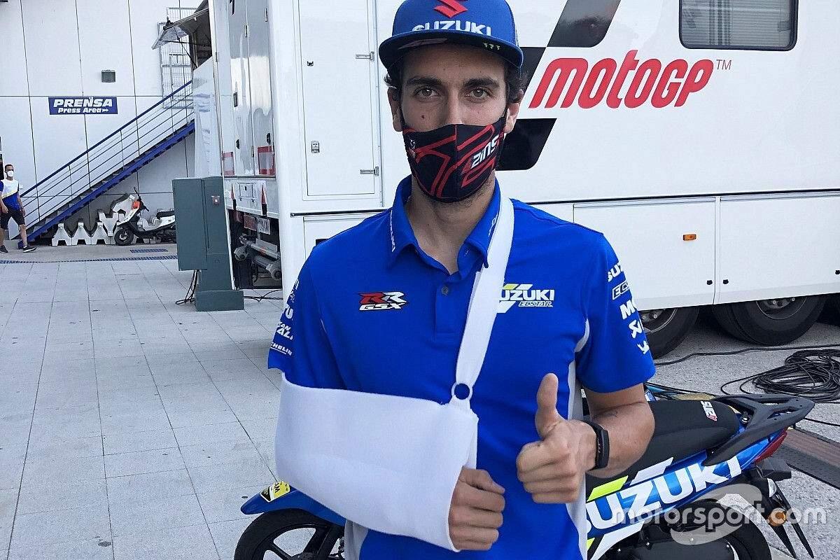 Rins dichiarato unfit, salta la gara di Jerez