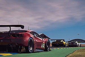 Óriási: így evett Leclerc vezetés közben a virtuális Le Mans-i 24 órás versenyen (videó)