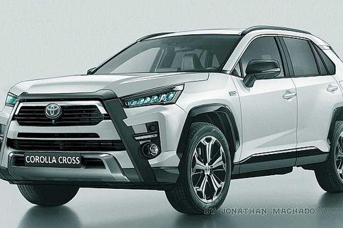 Toyota Corolla Cross: novos flagras dão base para projeções do futuro SUV nacional