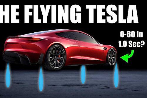 1,1 секунды до 96 км/ч. Инженер рассчитал динамику Tesla Roadster SpaceX