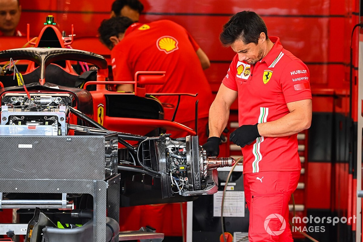 In pictures: Ferrari SF1000 technical details from the Hungaroring | 2020  Hungarian GP
