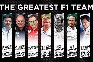 Qui formerait la plus grande écurie F1 de tous les temps?