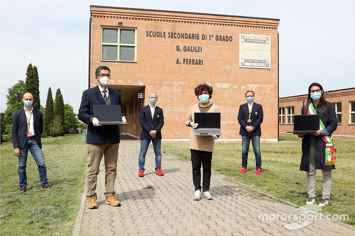 Ferrari: solidarietà dei dirigenti contro il COVID-19