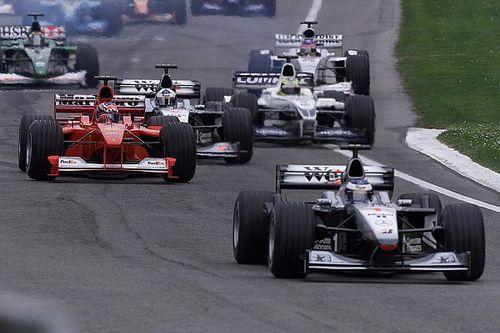 """二十年前:当F1比赛""""从开始到结束都像排位赛"""""""