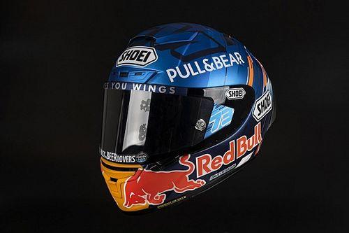 El casco que lucirá Alex Márquez en su temporada debut en MotoGP