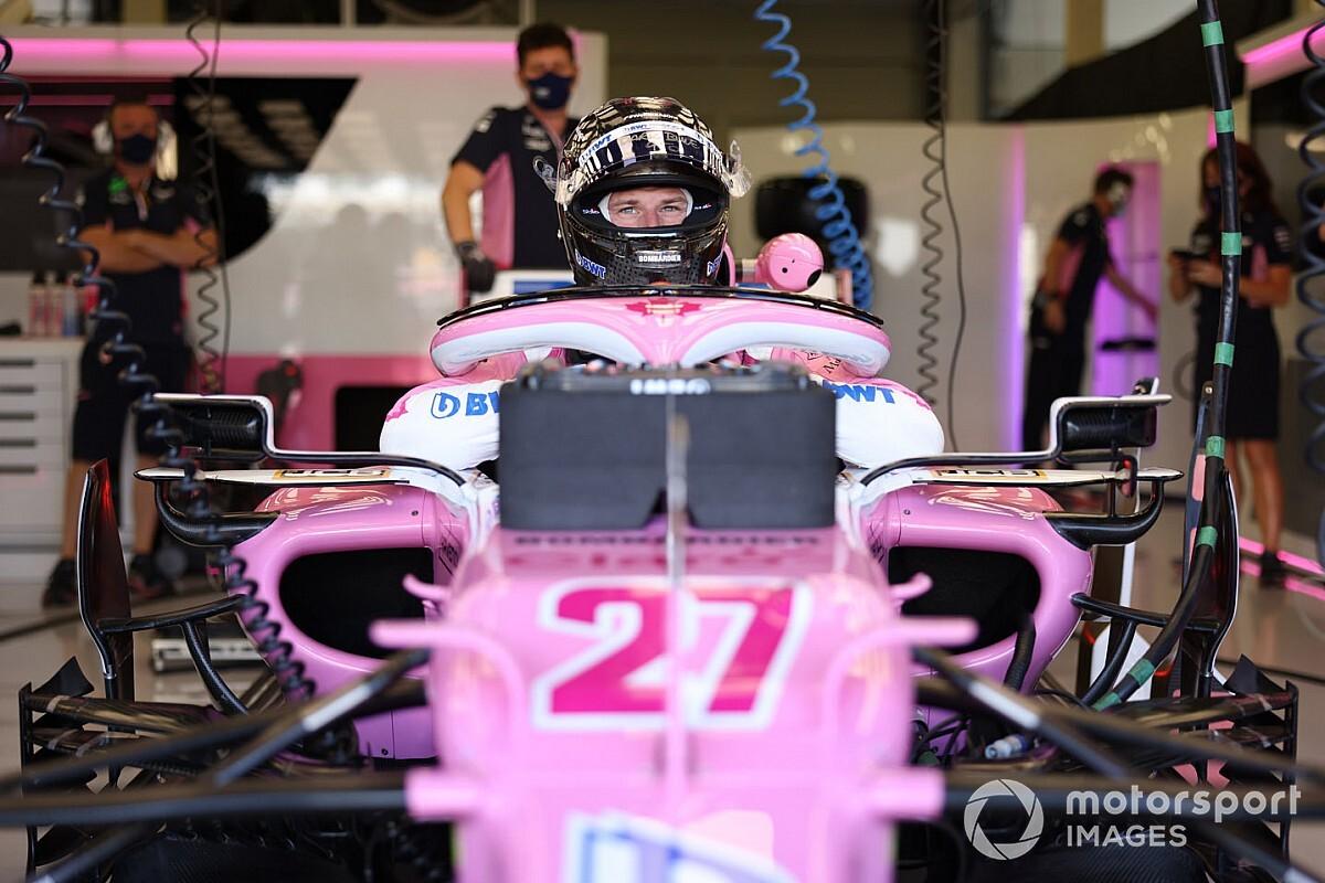 F1: Verstappen surpreende e lidera TL1 em Silverstone marcado pelo retorno de Hulkenberg ao grid
