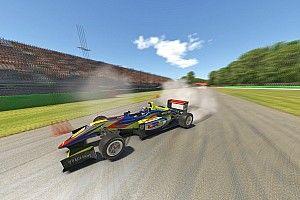 Formula E ace Rowland wins BRDC Esports Monza race