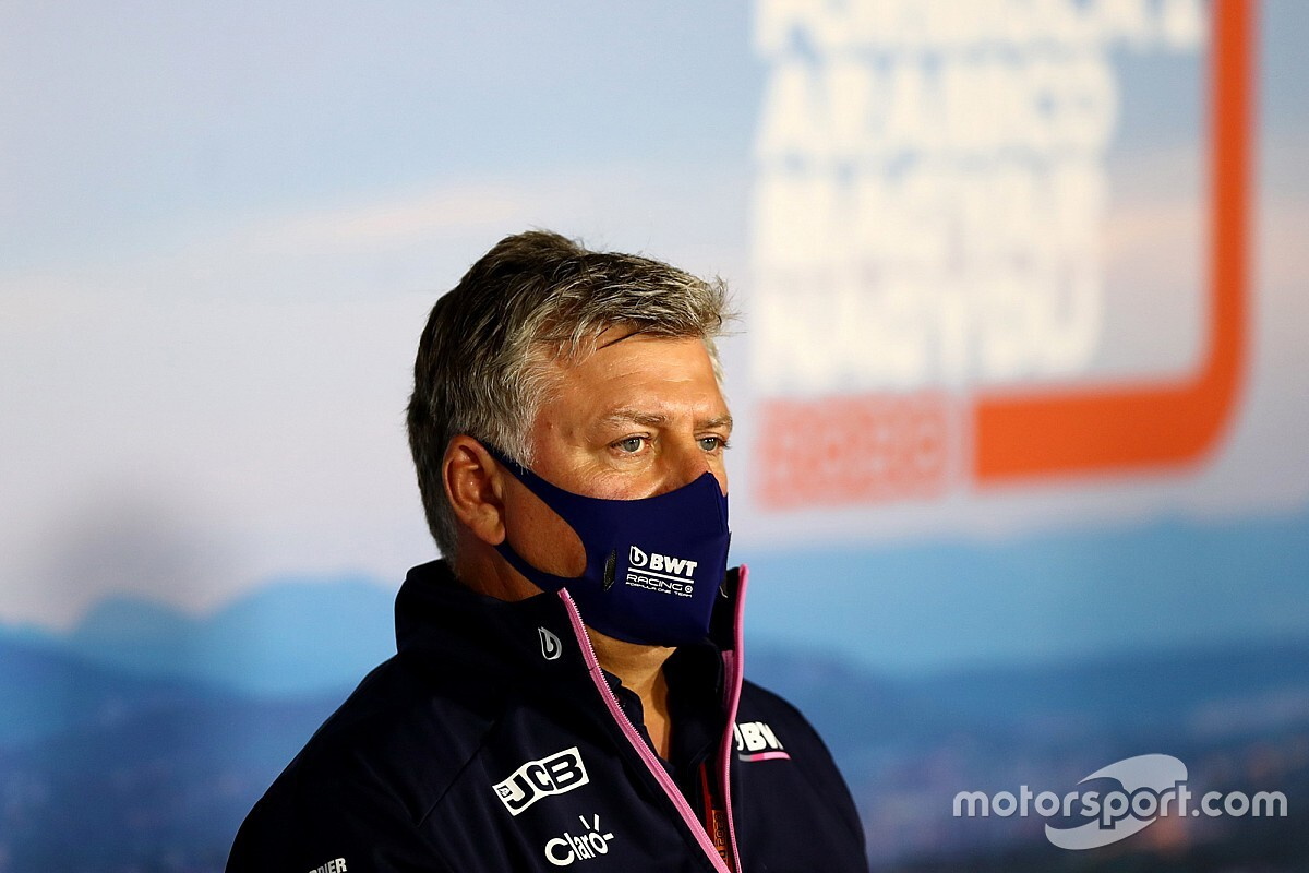 A Racing Point főnöke felvilágosítást adott az izolált csapattagok helyzetéről
