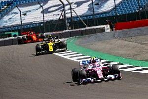 Renault sigue su cruzada y protesta contra Racing Point en Silverstone