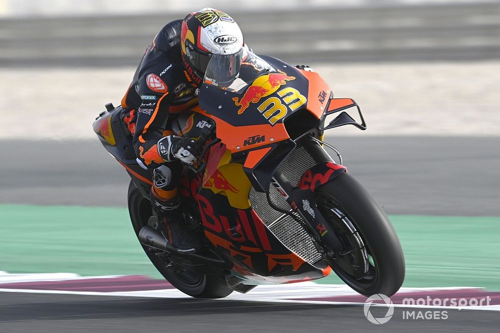 """Binder, Doha GP'de aldığı lastik riski nedeniyle """"endişelenmiş"""""""