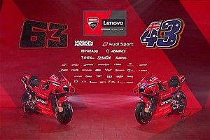 MotoGP: Ducati revela pintura revisada para moto de Miller e Bagnaia em 2021