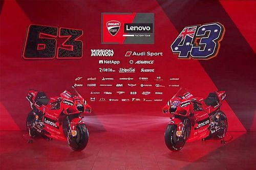 Ducati presenteert nieuwe rijders, nieuwe motor en nieuwe sponsor
