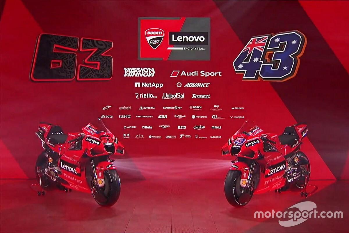 Bemutatta a 2021-es festését a Ducati MotoGP csapata - Galéria
