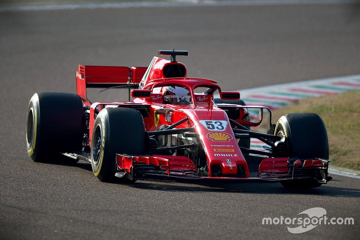 Ferrari: Ilott chiude la cinque giorni di Fiorano