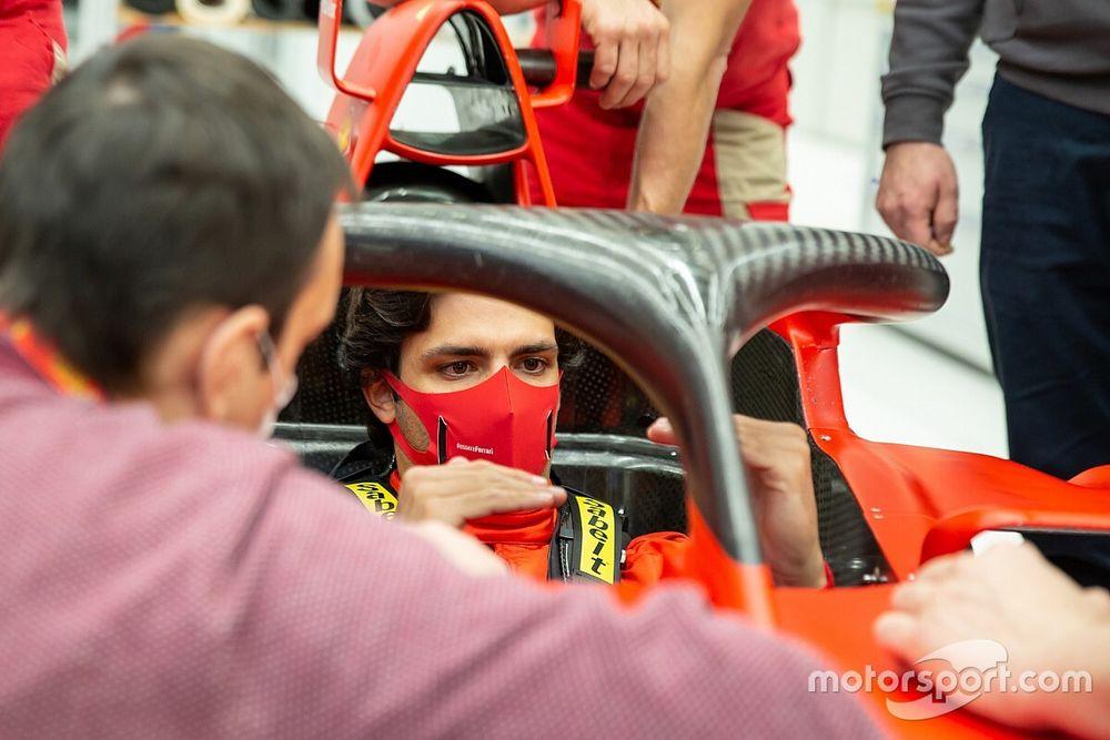 """Sainz: """"Sé que voy a Ferrari en igualdad de condiciones"""""""