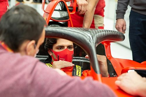 Sainz en piste avec Ferrari dès la semaine prochaine