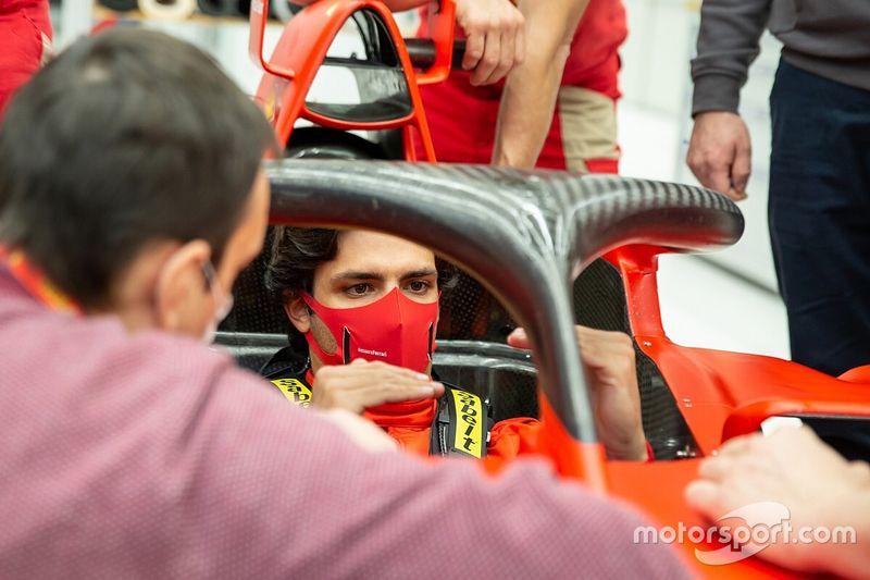 Sainz kon niet geloven dat Ferrari hem wilde vastleggen