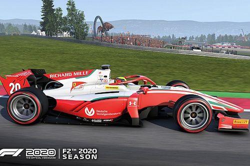 La saison 2020 de F2 débarque dans le jeu F1 2020