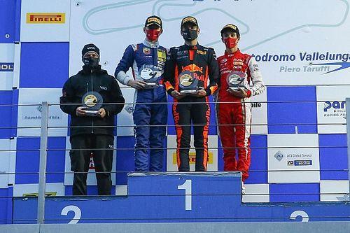 Formula 4, Vallelunga, Gara 3: successo di Edgar