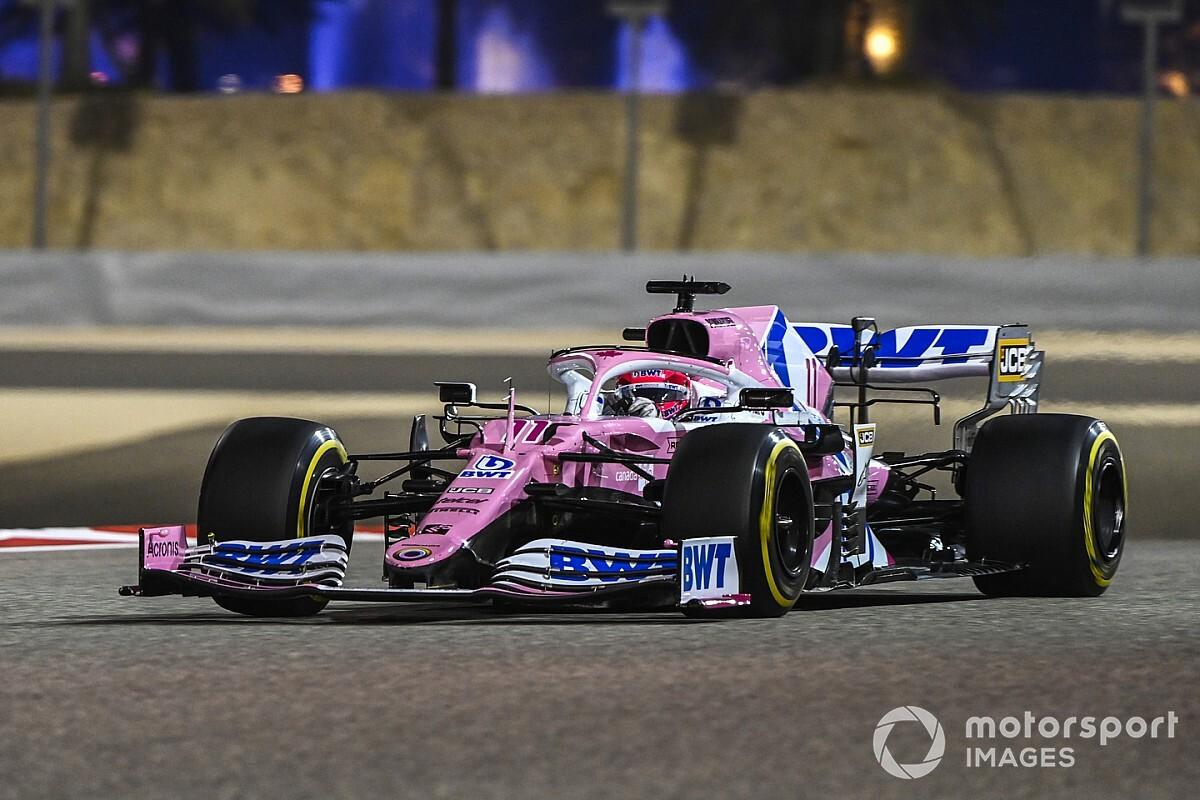 Perez start GP van Abu Dhabi achteraan door motorische gridstraf