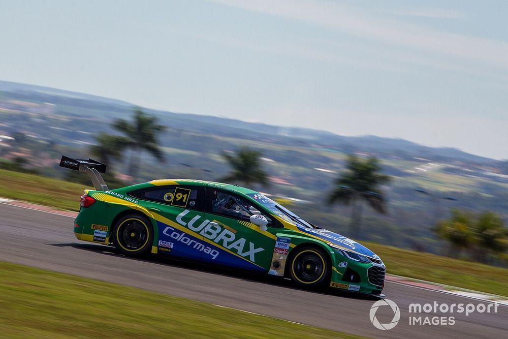 """Stock Car: Massa estreia com 3º melhor tempo do dia: """"bom sinal"""""""