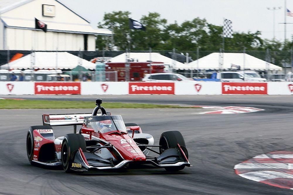 Indy: Veekay frustra Grosjean e vence GP de Indianápolis